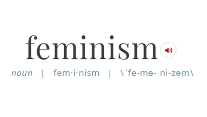 The 2017 word of the year is Feminism, as searched in the popular dictionary, Merriam-Webster.  (Merriam-Webster)
