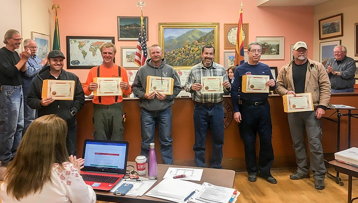Jerome fire responders honored by Town Council