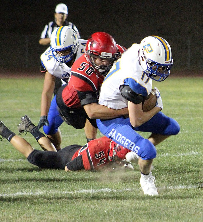 Lee Williams' Kael Juelfs (50) was named to the 4A All-Conference team after tallying 123 total tackles in his senior  campagin.