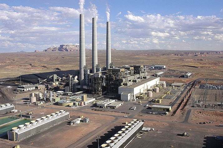 The coal-fired Navajo Generating Station in northeast Arizona provides almost 1,000 jobs between the plant and the mine that supplies it, but the plant's operators have said they plan to shut it down after 2019.