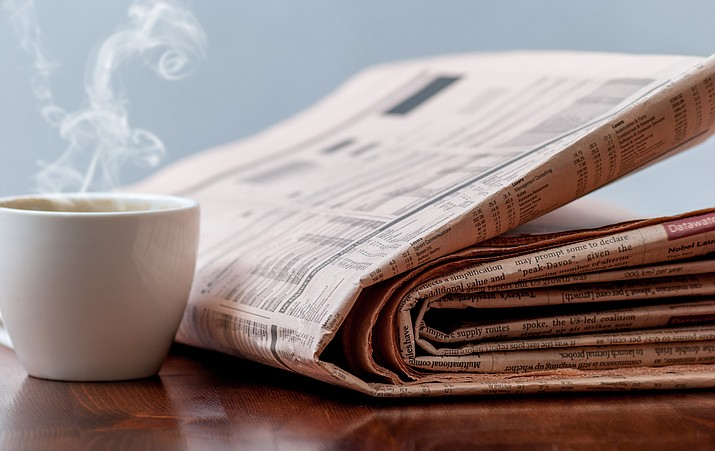 Many Americans still start their mornings with a cup of coffee and the local newspaper.