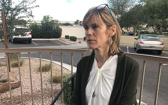 Lorie Warnock, Mountain Pointe teacher and Mitchell Warnock's mother, wants Arizona schools to do more to prevent student suicides.