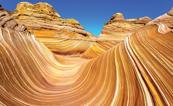 Coyote Buttes in the Vermilion Cliffs.