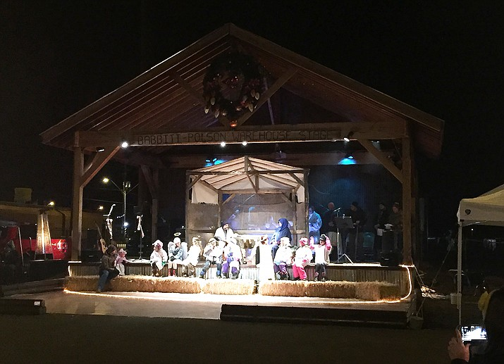 The 2017 Christmas Nativity pageant is coming Dec. 22 to the Babbitt-Poulson stage in Williams.