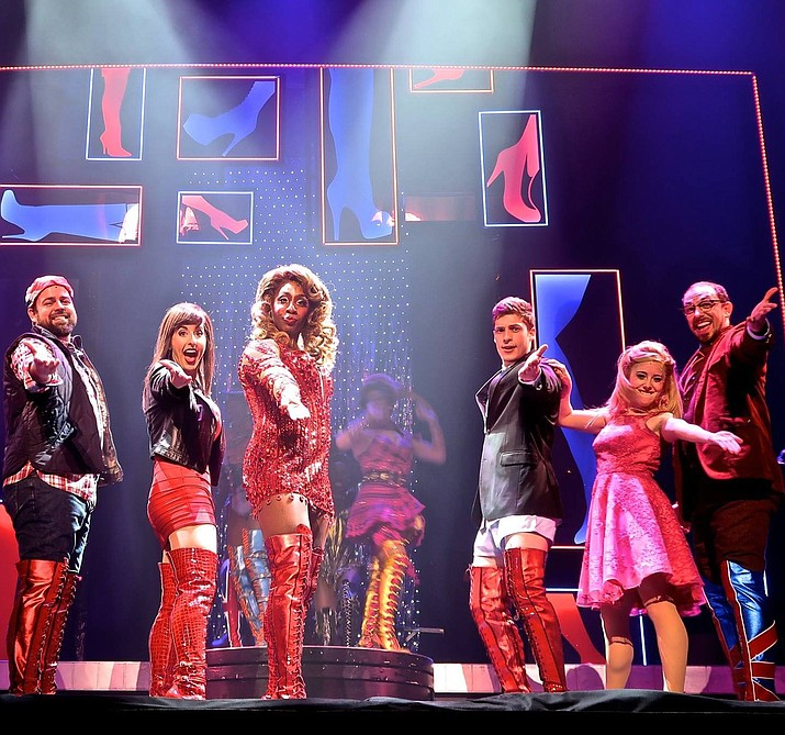 "Ethan Kirschbaum in his role for ""Kinky Boots."""