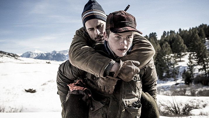 "An estranged father and son are forced to rely on one another to survive an unforgiving wilderness in the riveting, richly emotional thriller ""Walking Out"". The film stars Bill Pullman, Josh Wiggins and Matt Bomer."