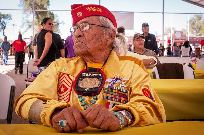 Navajo Code Talker Teddy Draper Sr. passed away in Prescott, Arizona Dec. 14. There are now only 10 Navajo Code Talkers alive today.