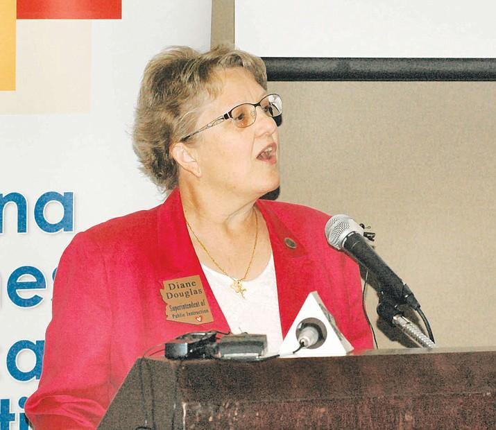 State schools chief Diane Douglas