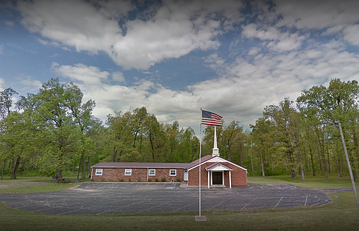 Lighthouse of Crofton Assembly of God Church ( Google Maps street view)