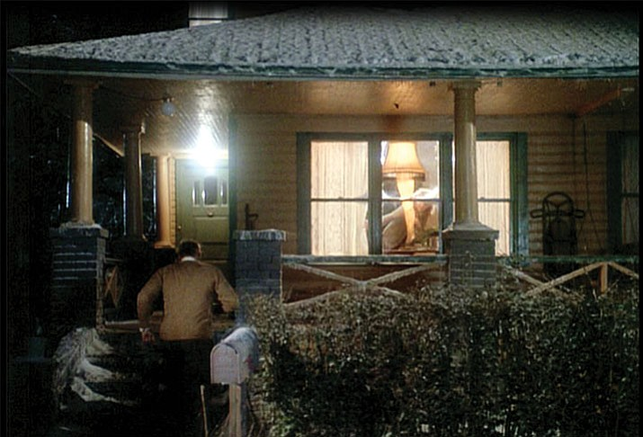 A Christmas Story. Lamp scene. (Courtesy)