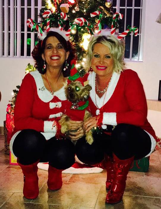 Diana Caldon and Stephanie Smith