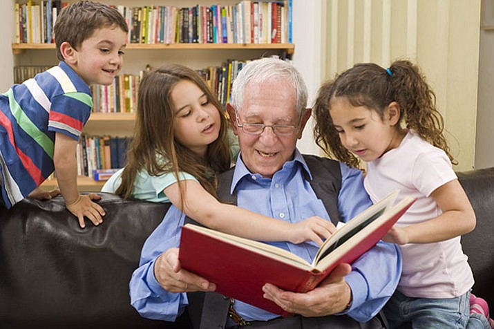Getting involved in children's education can be as simple as volunteering to read to them. (Courier file photo)