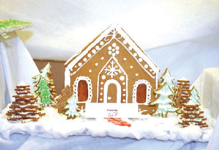The Gingerbread Village Display is located within the lobby of the Prescott Resort and Conference Center, 1500 Highway 69. It is open through Dec. 31, and there is no charge to see the village. (Courier file)
