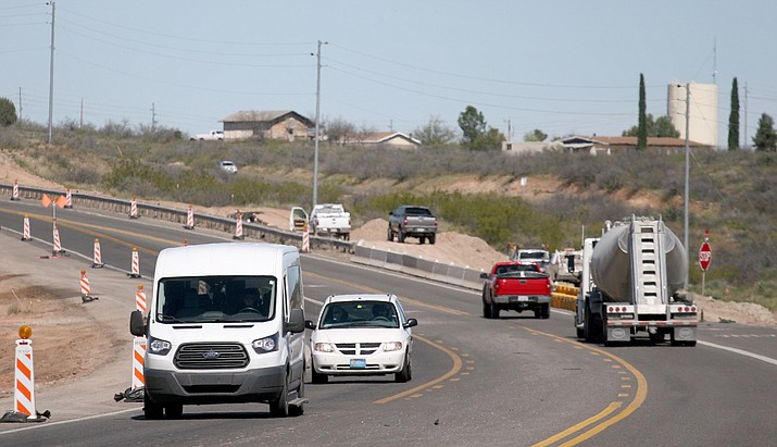 Camp Verdeans have spent much of 2017 dealing with Arizona Department of Transportation's $60 million-plus project to widen nine miles of highway and build seven roundabouts on SR 260 between I-17 and Thousand Trails Road. (Photo by Bill Helm)