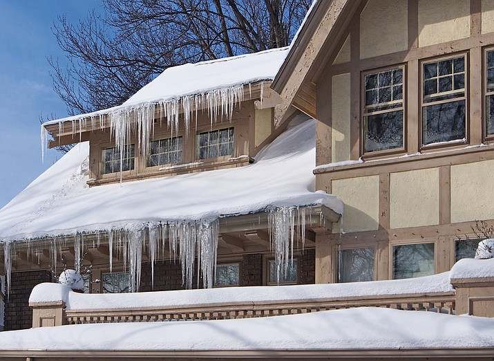 Making sure gutters are clear can prevent roof damage.