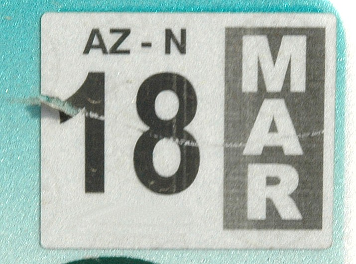 Lawmakers are looking into getting rid of registration tags to save money. (Courtesy)