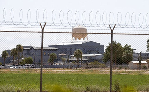 The prison in Florence, Arizona where some inmates on death-row are no longer facing isolation. (AP Photo/file)