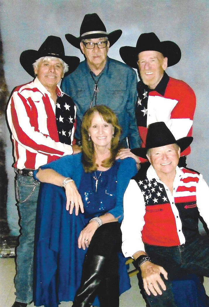 Country Fever plays at 8 p.m. Sunday for a New Year's Eve party at VFW Post 10386. Musicians, back row from left, are Sammy Alvarado, Lewis Duncan and Mark Thompson; front row, Linda Dorado-Corwin and Mike Mueller.