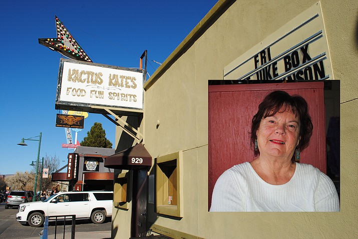 Katherine Woods is the owner of Kactus Kate's Saloon in Old Town Cottonwood. (VVN/Jennifer Volpe)