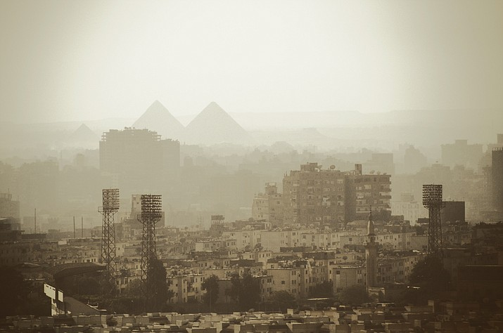 Cairo, Egypt where a gunman opened fire at a church killing at least 9. (Sophia Valkova, Unsplash)
