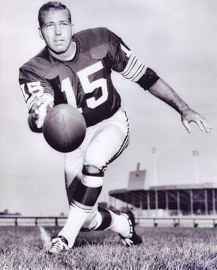 Greenbay quarterback Bart Starr.