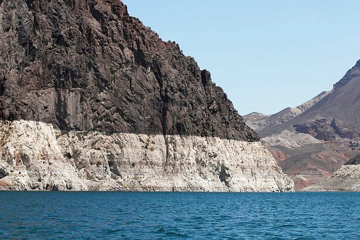 Lake Mead at the western end of Grand Canyon. (Photo/U.S. Geological Survey)