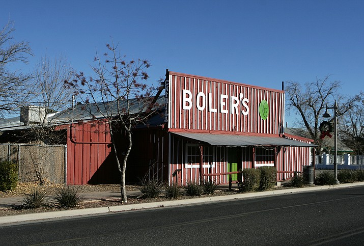 Camp Verde Economic Development Director Steve Ayers says he would like to see tenants in the Boler's building, as well as the former Valley View Restaurant and the longtime ALCO building. (Photo by Bill Helm)