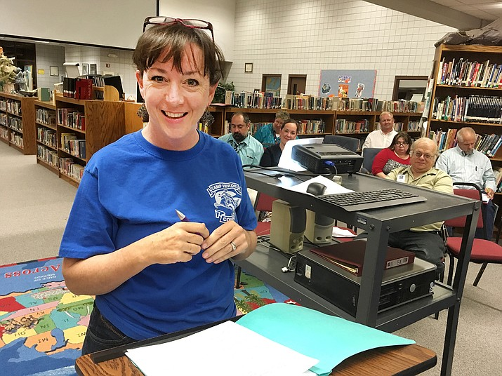 Peggy Dickey, Friday Camps coordinator, Camp Verde Unified School District