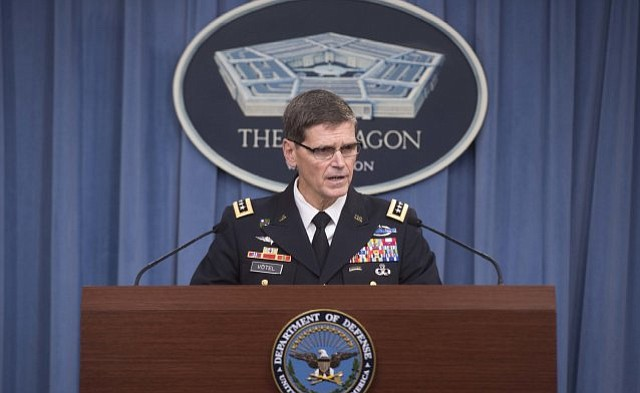 Gen. Joseph Votel of U.S. Central Command. ( Navy Petty Officer 1st Class Tim D. Godbee)