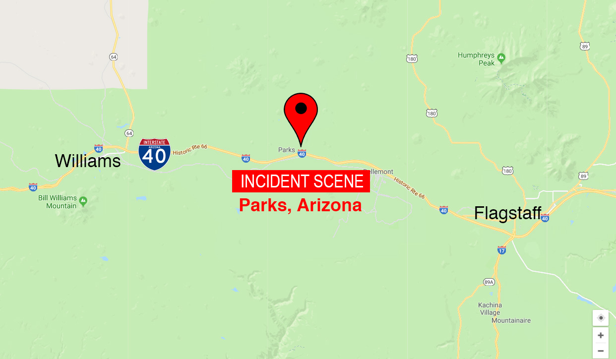 Map Of 89a Arizona.Family Of 4 Found Dead In Parks Vacation Cabin Williams Grand