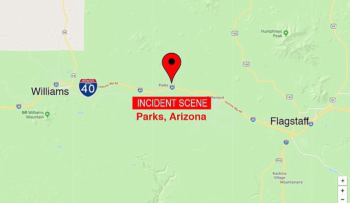 The Coconino County Sheriff's Office said the bodies of the four family members were discovered Monday in Parks, Arizona, following a request for a welfare check. (Google Map)