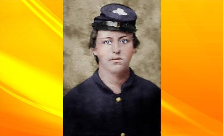 Flagstaff Pioneer John Elden (colorized)