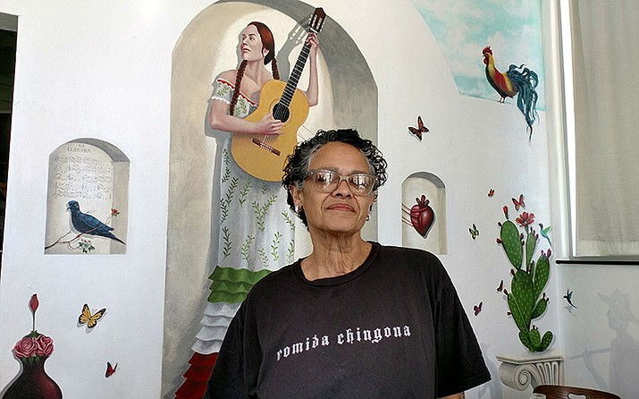 Phoenix entrepreneur and chef Silvana Salcido Esparza, who owns the popular Barrio Cafe and other eateries, said she's had some form of a business for as long as she can remember. (Photo by Kara Carlson/Cronkite News)