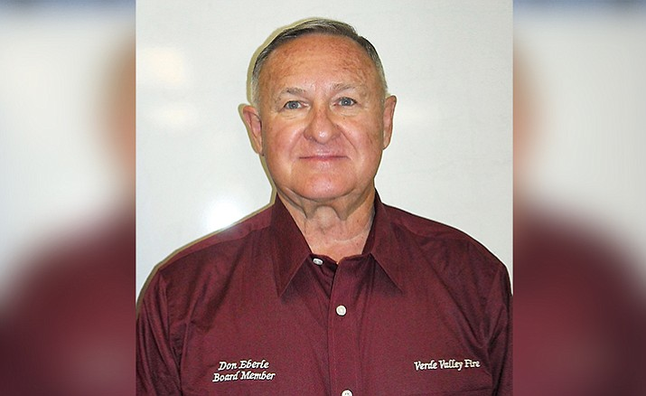 The Verde Valley Fire District Board of Directors accepted the resignation of Board Member Don Eberle at their regular meeting on Dec. 19, 2017.