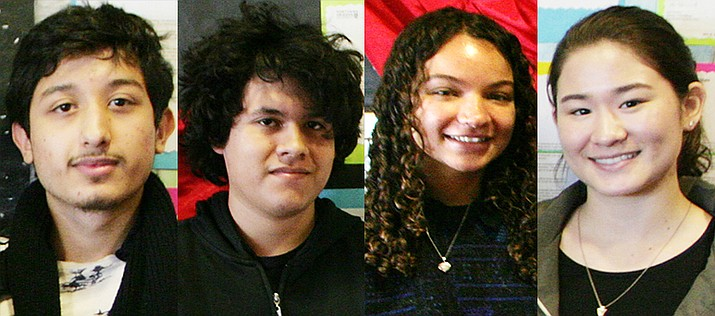 From left, Charly Diaz, Andy Davila, Christyana Fletcher, Saya Federbush (VVN/Bill Helm)