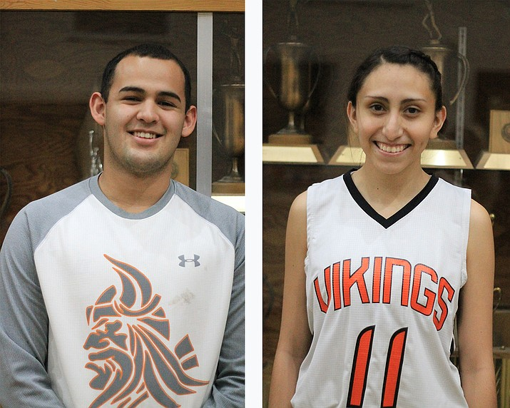 Diego Pedraza and Veronica Hernandez are senior athletes at Williams High School.
