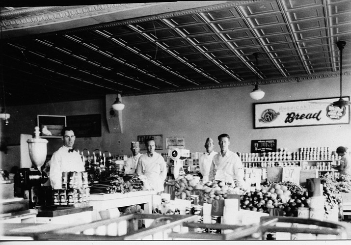 Employees pause during a shift at the Pay-n-Take store in downtown Williams in the 1950s. Anyone with information about this photo or the business is encouraged to share on our Facebook page or by emailing whowell@williamsnews.com