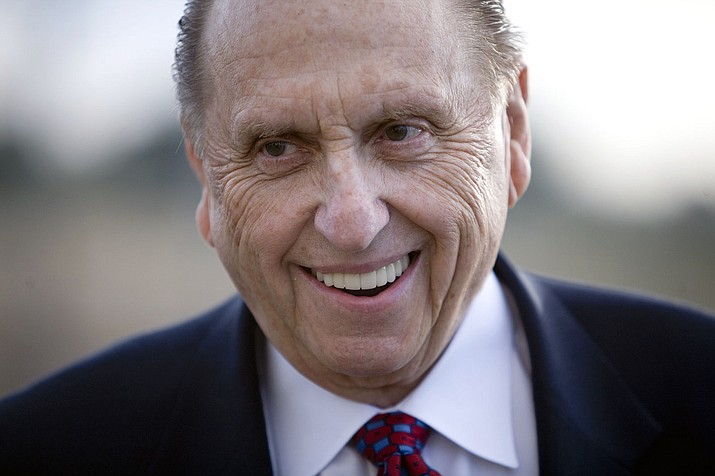 President Thomas S. Monson, 16th president of The Church of Jesus Christ of Latter-day Saints, died after nine years in office. The Mormon leader was 90. (GFDL use photo by Brian Tibbets, tibbets.org)