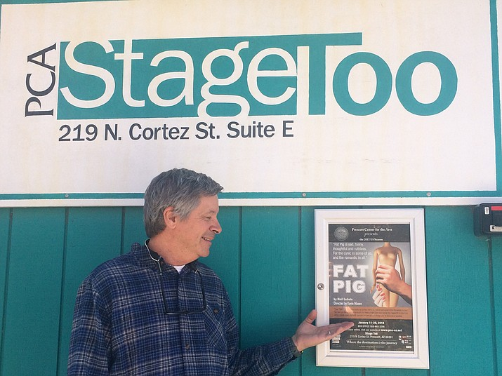 "Kevin Nissen, director of ""Fat Pig"" at Prescott Center for the Arts Stage Too. (Jason Wheeler/Kudos)"