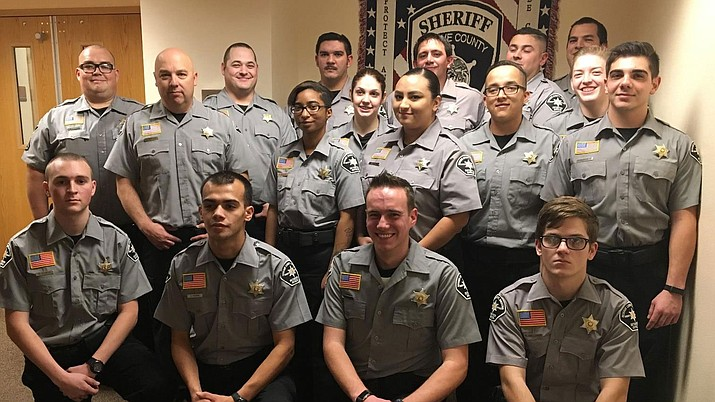Mohave County Sheriff's Office's recent class of detention officer graduates