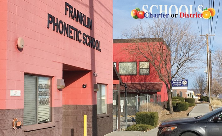 Three years ago, Franklin Phonetic, it opened a 100-student school in an impoverished area of Phoenix. (Matthew Van Doren/Courier)