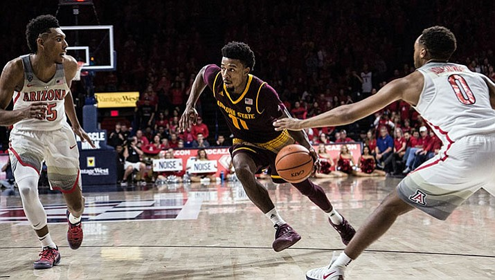 Shannon Evans and the Arizona State men's basketball team suffered their second straight setback Thursday in a 90-81 overtime loss at Colorado.