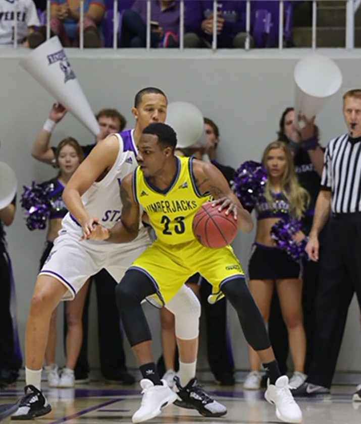 Lenell Henry and the NAU men's basketball team dropped a 95-55 loss on the road Thursday night against Weber State.