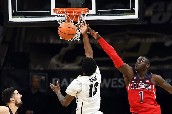 No. 14 Arizona saw its nine-game winning streak come to an end Saturday at Colorado.