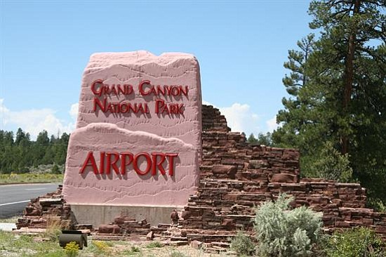The airport is located south west of the town of Tusayan and approximately three miles from the South Rim entrance.