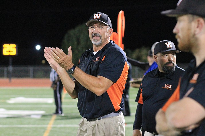 Vikings Head Coach Jeff Brownlee was selected as the 1A Coach of the Year by the Arizona Interscholastic Association. Brownlee led the Vikings to the 1A State Championship title in 2017.