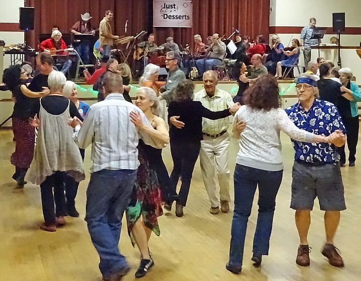 Get moving and have some fun at Contra Dance in Clarkdale, Saturday, Jan. 20.