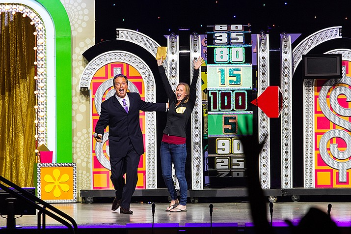 The Price is Right LIVE! will be at Yavapai College Performing Arts Center, 1100 E. Sheldon St., in Prescott, at 7:30 p.m. Friday, Jan. 19. 928-776-2000 or www.ycpac.com.