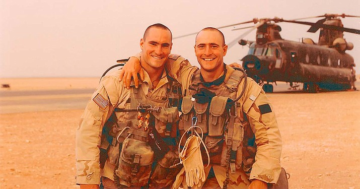 Pat Tillman and his brother Kevin, a professional baseball player, left their careers in sports to enlist in the wake of the 9/11 attacks. Both made Ranger units and were deployed to south Asia, where Pat would be killed in a friendly fire incident in Afghanistan in 2004. (Photo courtesy the Tillman Foundation)