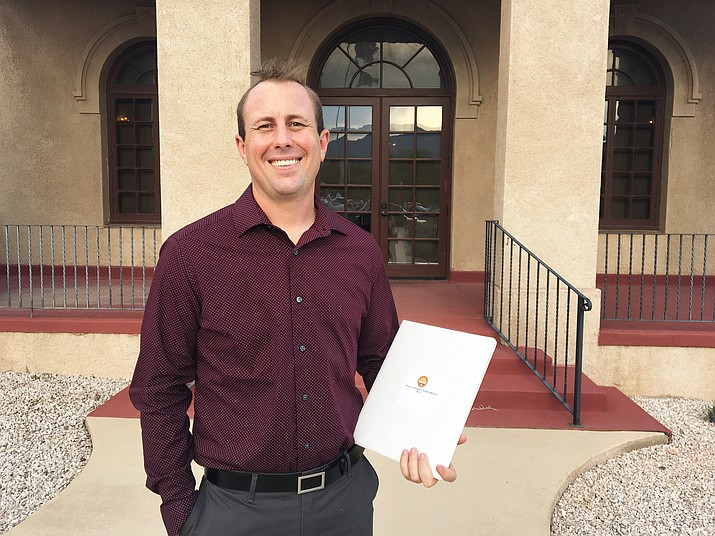 Ben Kramer was appointed to Clarkdale Town Council in September 2017.